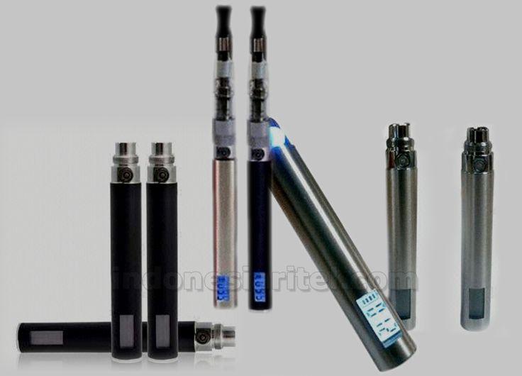 Rokok Elektrik Ego LCD CE4 1100Mah Black & Crome AA0047-0003
