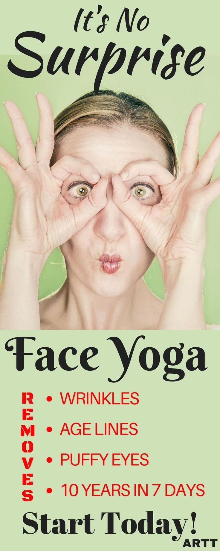 Face Yoga makes you look younger by toning the face.  Try the pefect face yoga program to make you look and feel younger. Lose face fat and feel young again.   yogameditation   yoga #yogaposes   yogabenefits   yogapositions   yogaforweightloss    yogaforb
