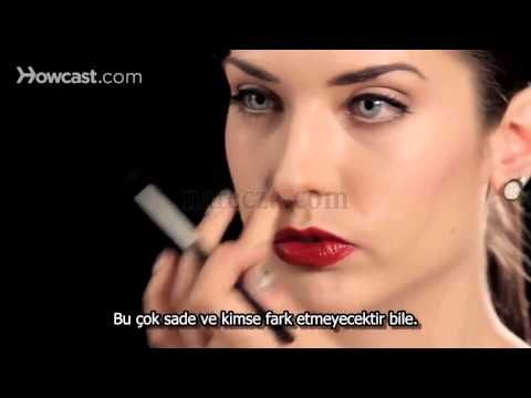 Makyajla Burun Küçültme Mucizesi - YouTube