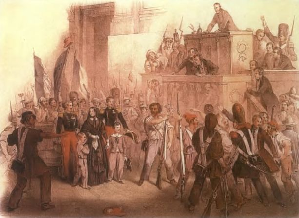1848 – A revolution breaks out in Hungary.    the european revolutions of 1848 sparked off by the overthrow