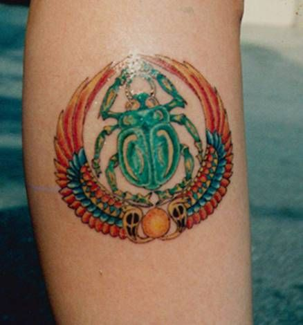Meaning of Tattoos Scarabs ( rebirth,regeneration,renewal,protection,creation)
