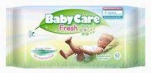 Μωρομάντηλα Babycare Ref. Fresh 63τμχ.