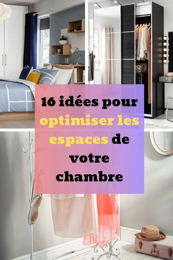 16 Idees De Rangements Pour Amenager Votre Chambre Decoration Petite Chambre Rangement Chambre Parents Astuce Rangement Chambre