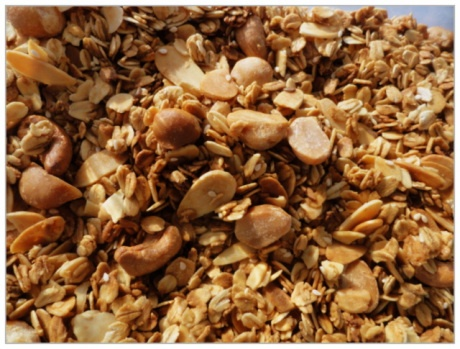 Nutty Granola: 5:2 Diet recipes