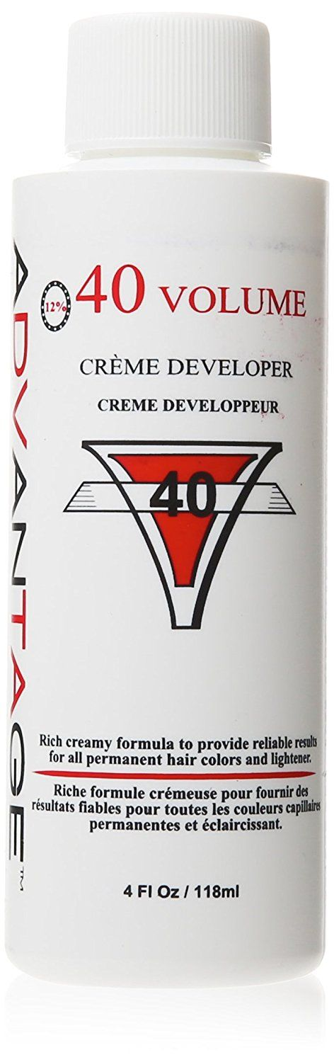 Salon Advantage 40 Volume Creme Developer, 4 Ounce * Learn more by visiting the image link.
