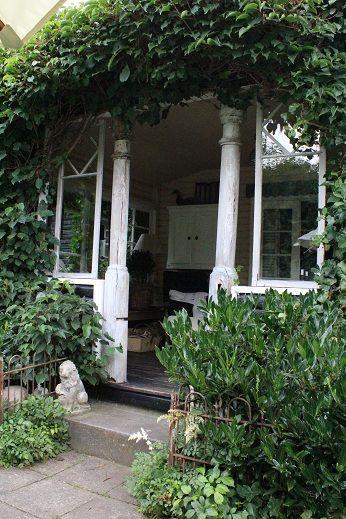 "Villa ""Rosa""... Villa rosa, Outdoor rooms, Outdoor design"
