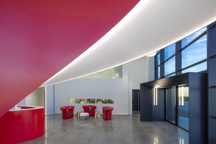 Maina Panettoni Headquarter – Fossano Italy – Architectural and Lighting  project: Arch. Gianni Arnaudo – Photo: Dario Fusaro - Lighting products: iGuzzini Illuminazione #iGuzzini #Lighting #Light #Luce #Lumière #Licht