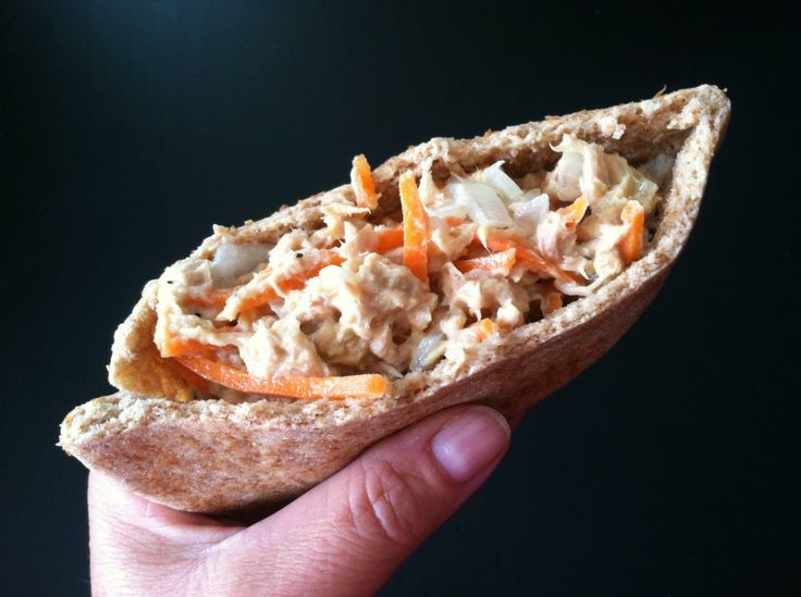 Crunchy Tuna Salad with Shredded Carrots! Easy Weight Watcher Meal Ideas...