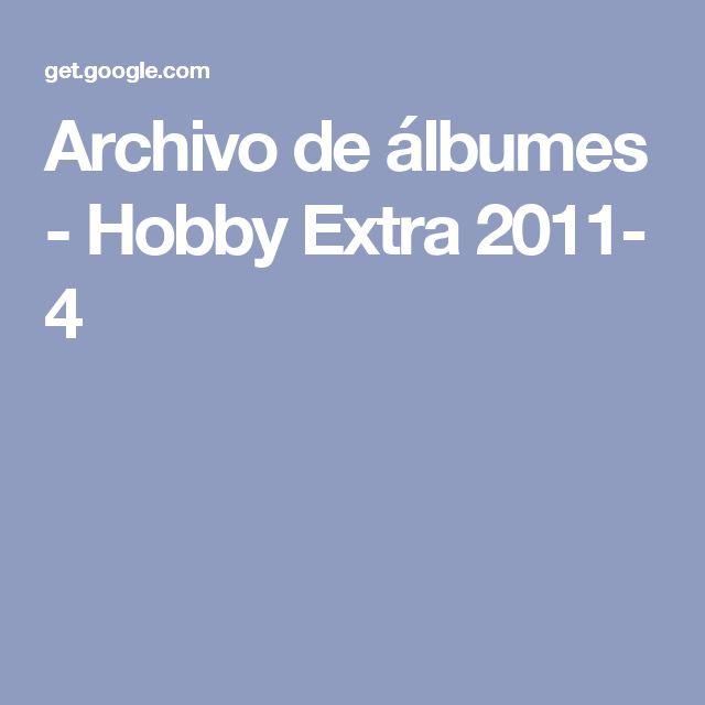 Archivo de álbumes - Hobby Extra 2011- 4