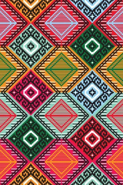 inigo elizalde -- motif géométrique ethnique