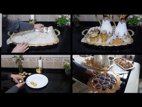 طاولة العيد 2019 ختمت حلوياتي بحلوة النيسلي كرامال بحلة جديدة صحا عيدكم Youtube Table Decorations Decor Table