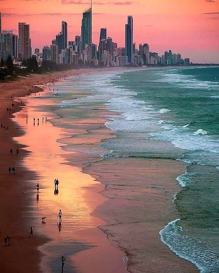 Gold Coast Skyline Pics Travel Aesthetic Travel Photo Wall Places To Travel