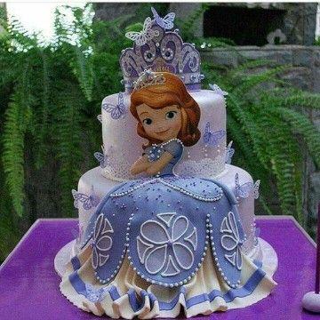 pasteles de la princesa sofia imagenes
