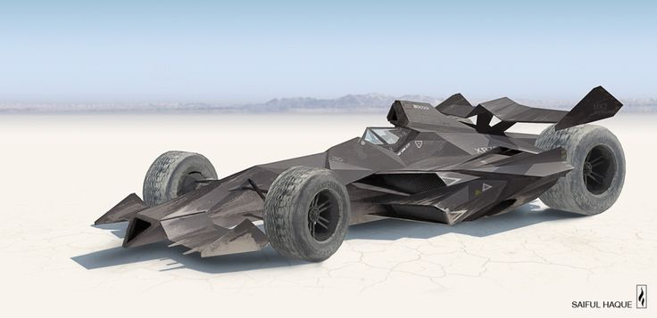 Concept vehicle illustration by Saiful Haque