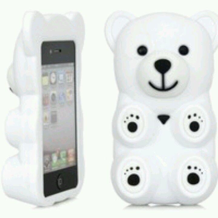 bear phone case   Via Payton Williams