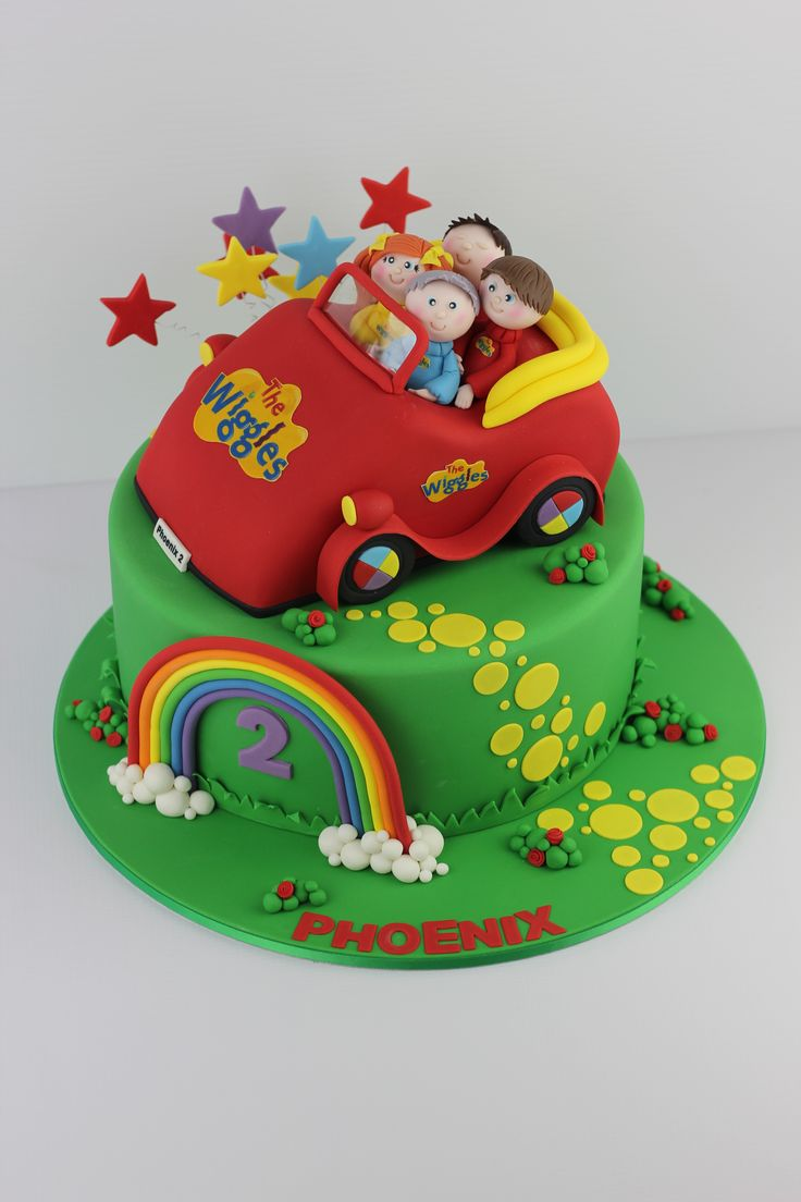 Cake Decorating Yarraville : 18 best Wiggles images on Pinterest Wiggles party ...