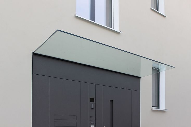 Glass canopy // Architect - Jonek + Dressler Architekten