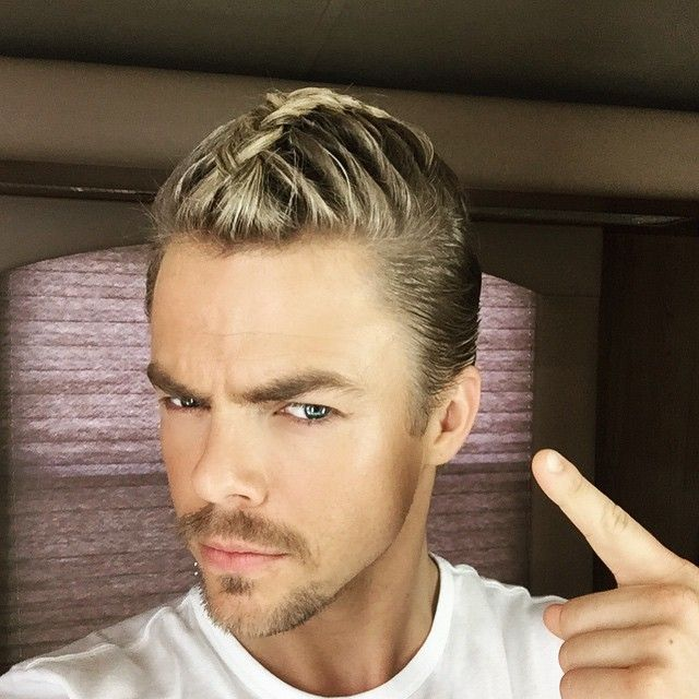 The man bun is dead. The man braid....... is dead. Oh well, I'm gonna rock it anyways #dwts