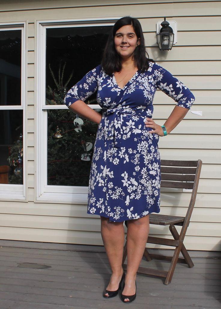 Plus size wrap dress sewing patterns