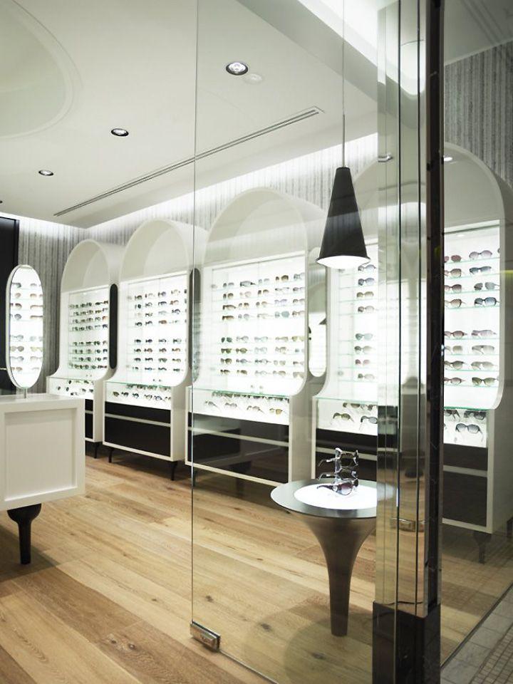 The Optometrist by Greg Natale, Sydney store design