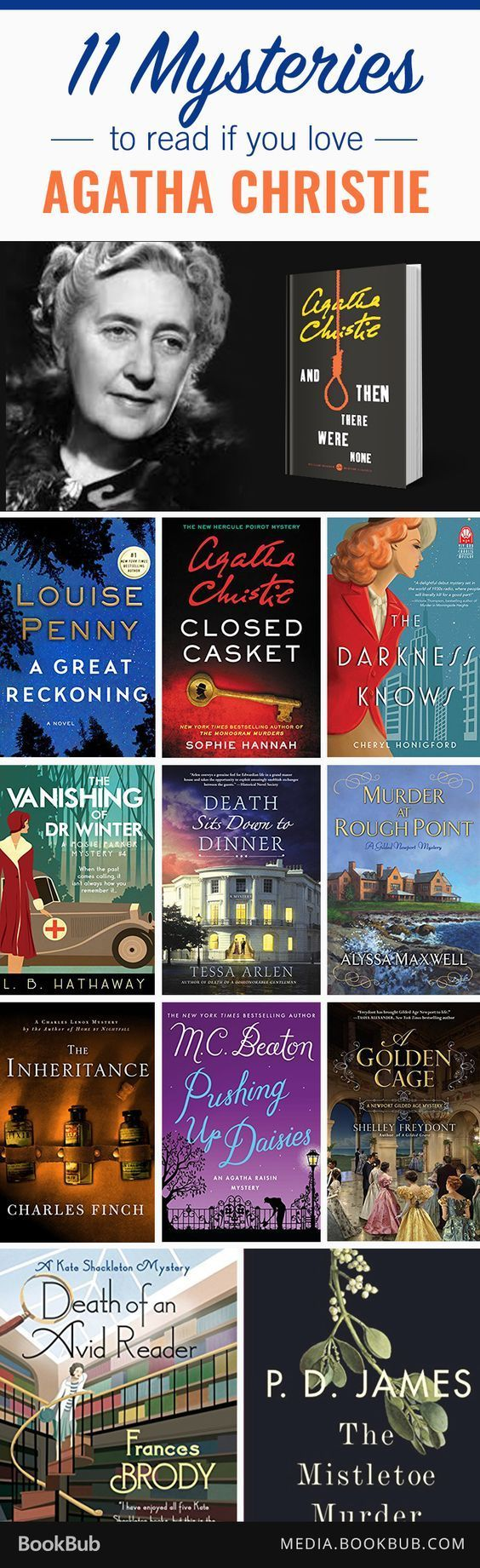 22 best million dollar mary images on pinterest communication hay 11 mysteries to read if you love agatha christie fandeluxe Choice Image