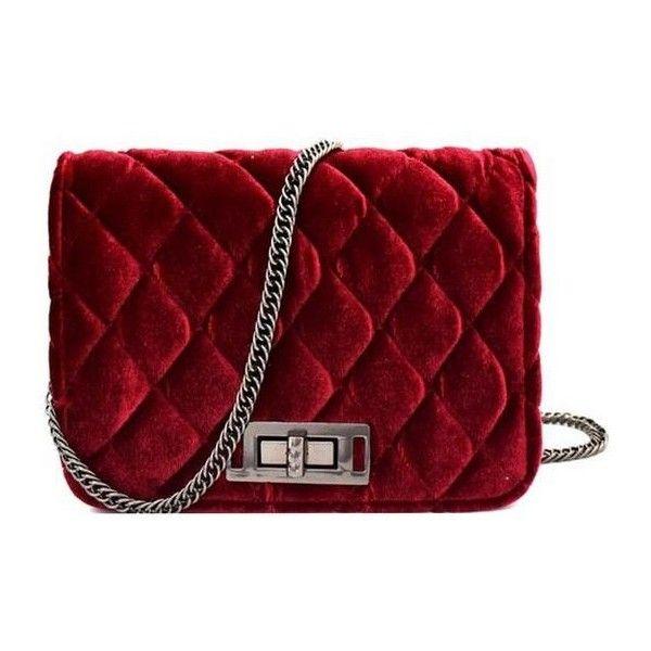 Velvet Crossbody Bag Wine ($35) ❤ liked on Polyvore featuring bags, handbags, shoulder bags, wine purse, red cross body handbags, heart handbag, heart shaped purse and red crossbody handbags