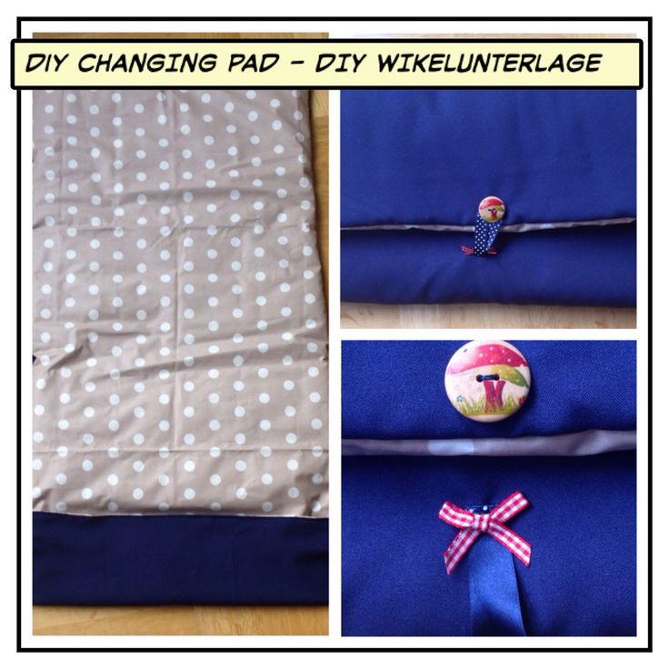 DiY Changing Pad DiY Wickelunterlage