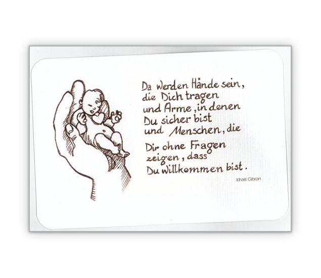 Baby/ Taufkarte: Da werden Hände sein… - http://www.1agrusskarten.de/shop/baby-taufkarte-da-werden-hande-sein/ 00019_0_1467, Baby, Babykarte, Design, Grußkarte, Herz, Illustration, Klappkarte, Liebe, Taufe00019_0_1467, Baby, Babykarte, Design, Grußkarte, Herz, Illustration, Klappkarte, Liebe, Taufe