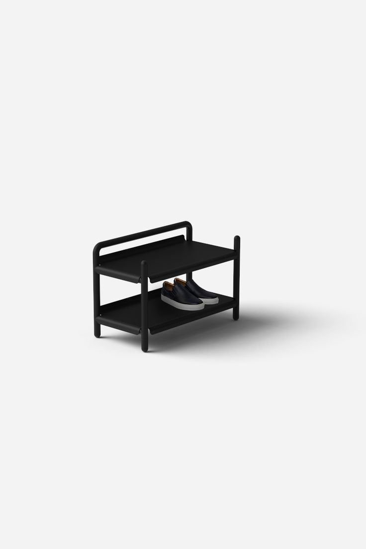Shoe Rack designed and built with Aalo