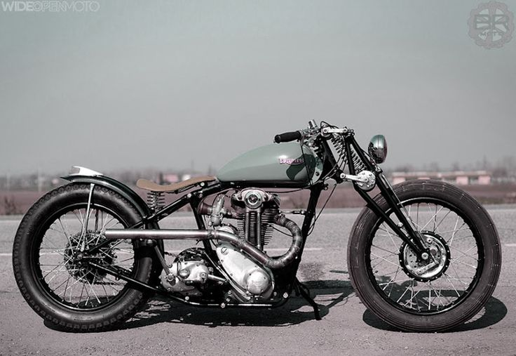 1939 Triumph 3HW Bobber