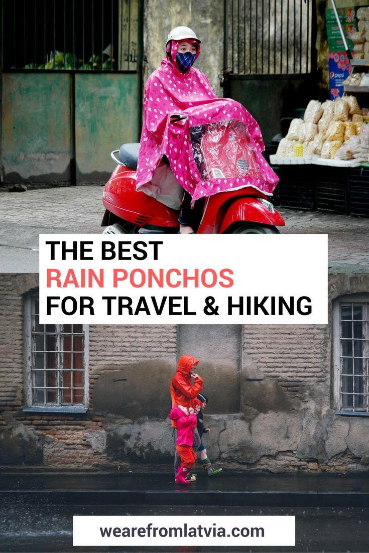 Best Rain Ponchos | Best Ponchos for Travel | Best Rain Gear for Travel