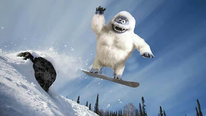 Bumble skiing bumble pinterest skiing for Abominable snowman outdoor decoration