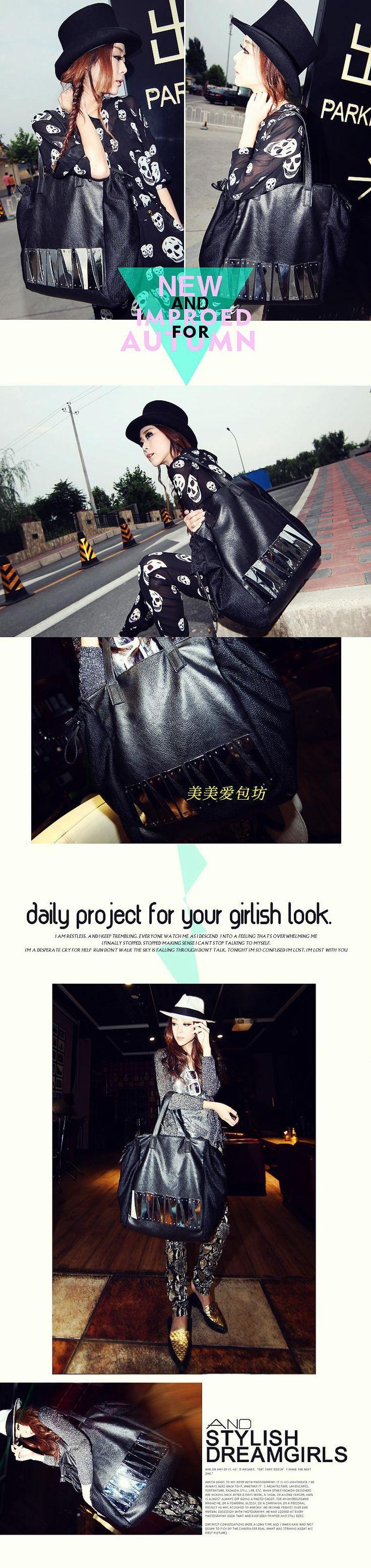 Beautiful love mill Female 2012 autumn Europe Street metal sequins leisure baodan shoulder bag handbags