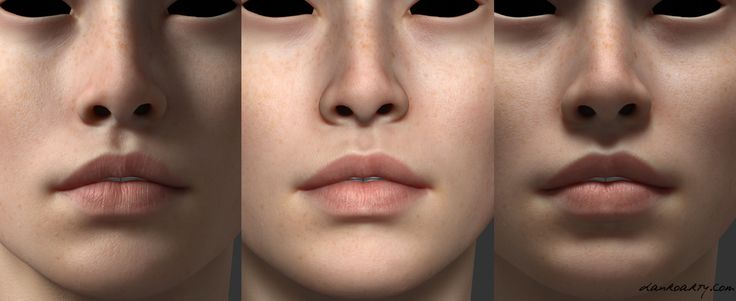 ArtStation - a face in progress, Dan Roarty