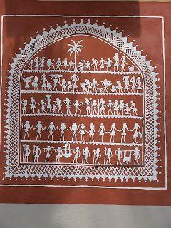 Anthropus: Saora/Saura Painting, Orissa
