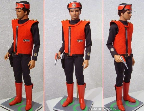 Captain Scarlet, the best of Anderson's characters!