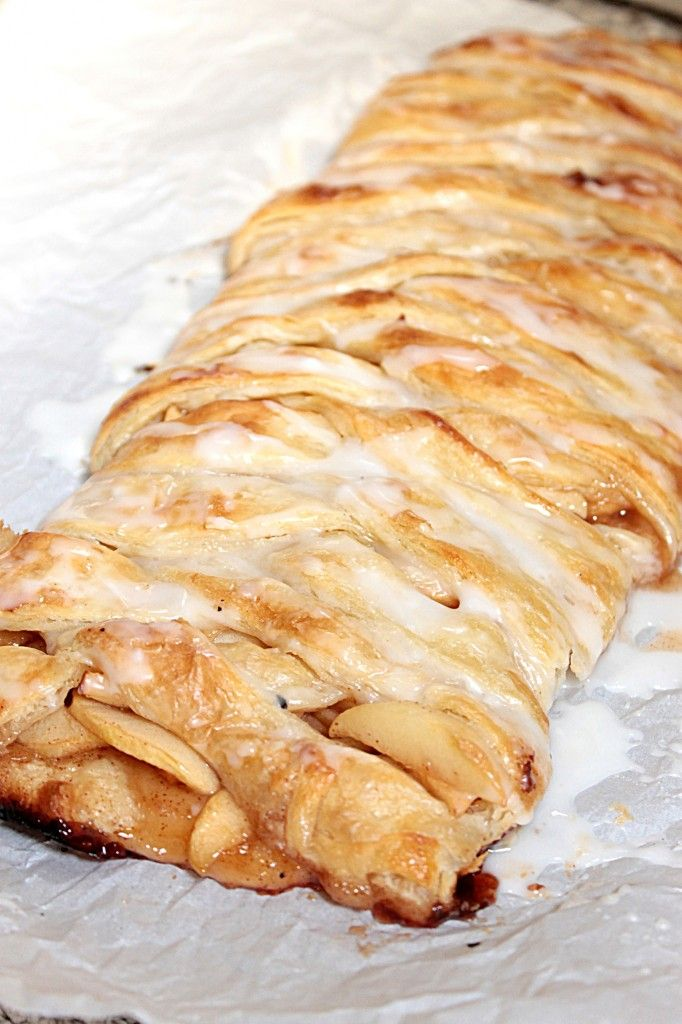 Apple Danish Braid