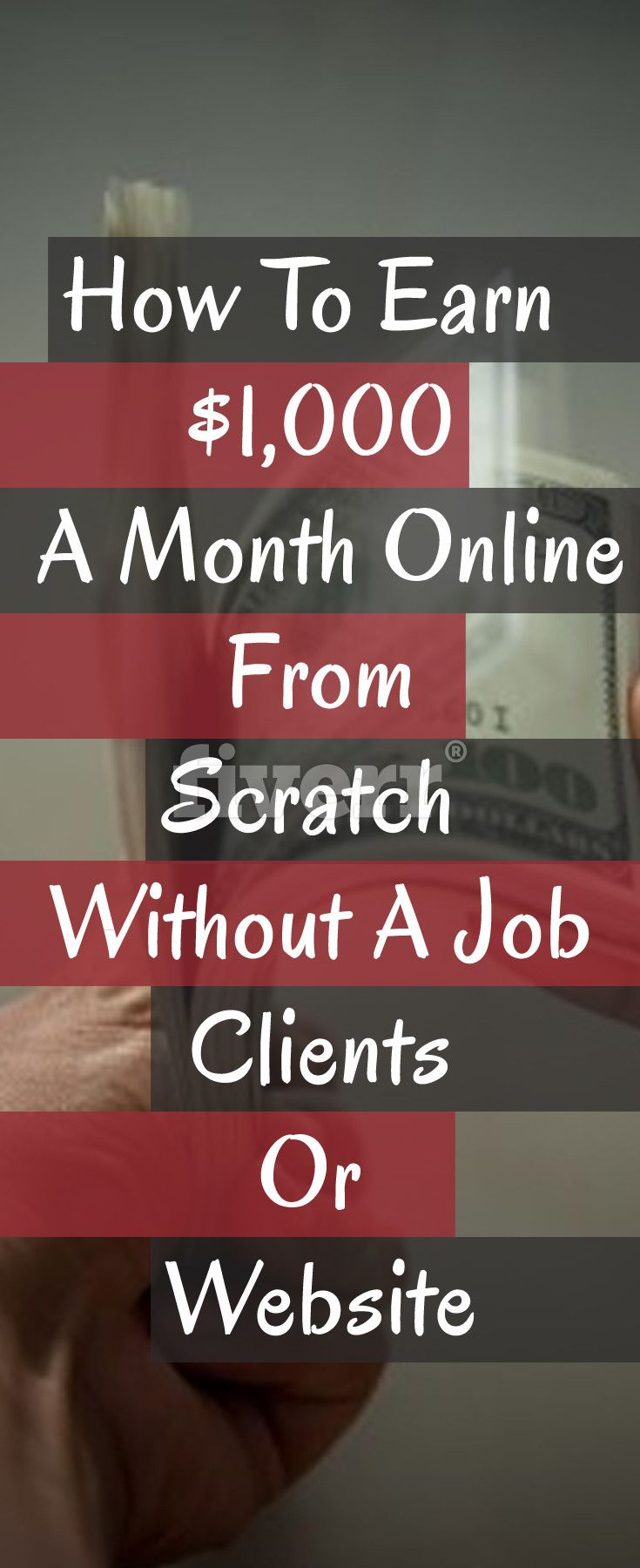 How To Earn $1,000 A Month Online From Scratch Without A Job, Clients, Or Website make money fast | quick ways to make money | quick ways to make extra cash | extra income ideas | extra income ideas from home | side hustle ideas for introverts #makemoneyonline #makemoney #surveys