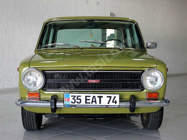 Eren Otomotiv'Den 1976 Murat 124 Orjinal 21.000 Km