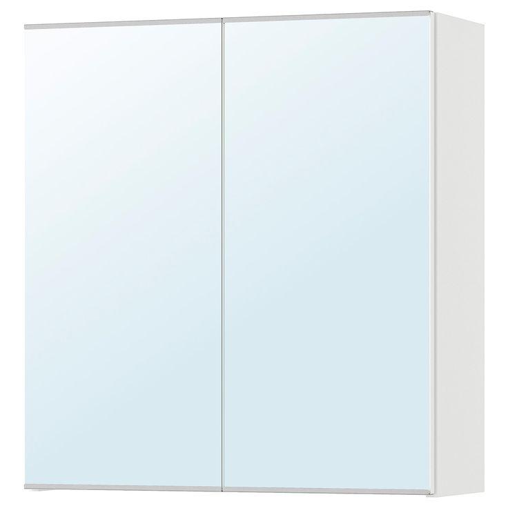 Ikea Lillangen Mirror Cabinet With 2 Doors In 2020 Mirror