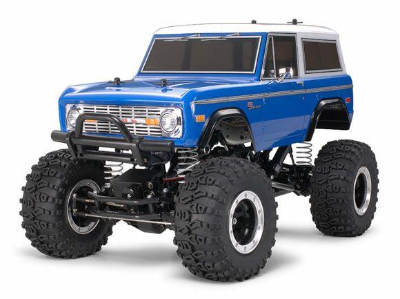 rc trucks | Scale Radio Control Truck Ford Bronco
