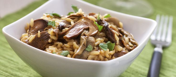 Risotto aux champignons : la recette du risotto au champignon