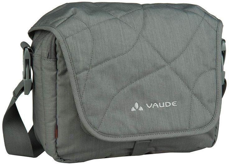 Vaude agaPET Umhängetasche Anthracite (innen: Grau) - Notebooktasche   Tablet