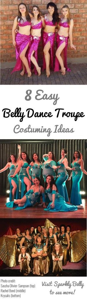8 easy belly dance troupe costuming ideas