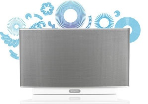 Sonos play 5 - portable speaker system for each room in your home. Nice!