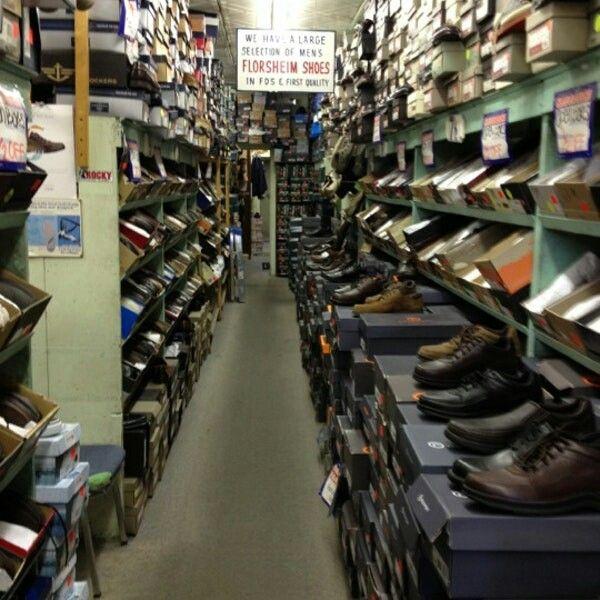 Sears Shoe Store - hasn't changed since