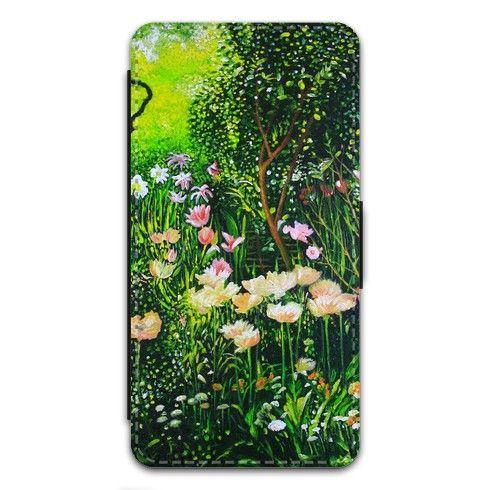 Spring Tulip Flowers  iPhone Case by simon-knott-fine-artist at zippi.co.uk