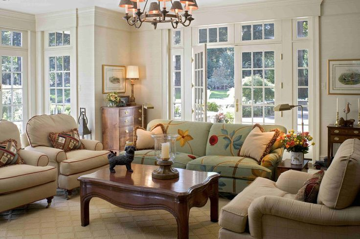 """Note the way this molding is done - a small molding is added on the wall and the wall is painted the trim color - this is a great and inexpensive way to have the room look much more """"high-end."""""""