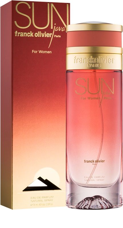 7e809063d3803e Franck Olivier: Sun Java, fo women - 2004   perfumes   Franck ...