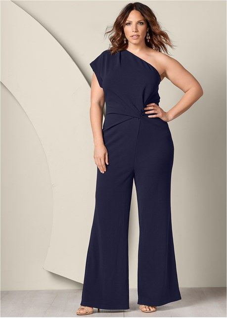 735970ef271 One shoulder jumpsuit